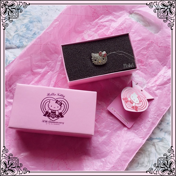 61730cfc0 Sanrio Jewelry | Hello Kitty 30th Anniversary Ring | Poshmark